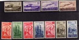 COLONIE ITALIANE AFRICA ORIENTALE ITALIANA AOI 1940 MOSTRA TRIENNALE D'OLTREMARE SERIE COMPLETA  MNH - Africa Orientale Italiana