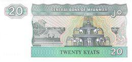 20 Kyats Myanmar - Myanmar