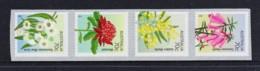 Australia 2014 Floral Emblems Set Of 4 Self-adhesives MNH - Ongebruikt