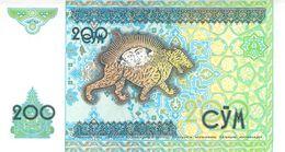 200 Cym Usbekistan 1997 - Usbekistan