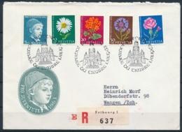 1963 JOURNÉE DU TIMBRE Mit Pro Juventute Frankatur - FRIBOURG - Lettres & Documents