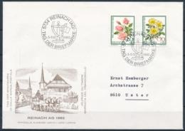 1982 TAG DER BRIEFMARKE  Mit Pro Juventute Frankatur - REINACH (AG) - Lettres & Documents
