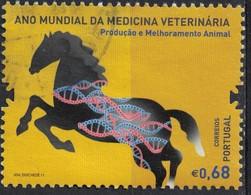Portugal 2011 Oblitéré Used Année Mondiale De La Médecine Vétérinaire Cheval SU - 1910-... République