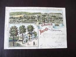 Gruss Aus Hardt Bei Engelskirchen Litho 1902 - Sonstige