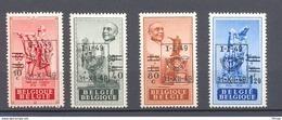 803/806 Anseele Preos Opdrukken  POSTFRIS** 1949 - Belgium