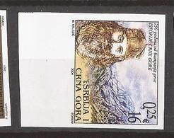 2004 3195  DRUCK 250 JAHRE ERSTE BUCH   MONTENEGRO  CRNA GORA SRBIJA SERBIEN JUGOSLAVIJA RRR IMPERFORATE SELTEN MNH - Montenegro