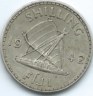 Fiji - George VI - 1942 - 1 Shilling - KM12a - Fiji