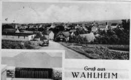 """AK Wahlheim Bei Alzey, Worms, Mainz, Bingen - """"GRUß AUS WAHLHEIM""""   (Feldpostkarte 1944) -selten !!! - Allemagne"""