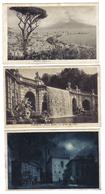 Caserta 1935 + Napoli 1935 + Firenze 1937 Lotto Di 3 Cartoline  VIAGGIATE   ( Conservazione Come Da Scan  ) C.1687 - Caserta