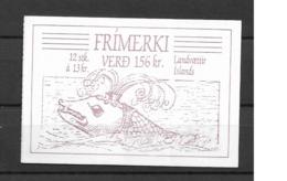 1988 MNH Iceland, Booklet Postfris - Cuadernillos/libretas