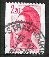 FRANCE  2379  Liberté De GANDON Delacroix Roulette 2.20 Rouge - France