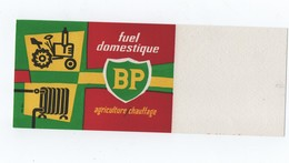 "BUVARD  ----  ""B.P."" FUEL DOMESTIQUE - AGRICULTURE - - Food"