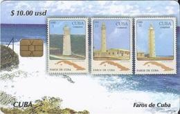 CUBA - FAROS DE CUBA 3 - LIGHTHOUSE - STAMP - Cuba