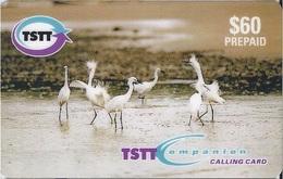 TRINIDAD & TOBAGO - DANCING EGRETS - E/001 - Trinité & Tobago
