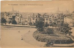 CPA - Belgique - Brussels - Bruxelles - Schaerbeek - Panorama Vu Du Boulevard Lambermont - Schaarbeek - Schaerbeek