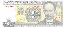 1 Peso Cuba 2011 - Kuba