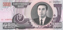5000 Wong Nordkorea 2006 - Korea, North