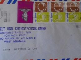 W510.9 Malaysia Kuala Lumpur  Ca 1977 Cover Sent To Germany - Malaysia (1964-...)
