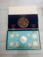 6626-2019    COFFRET MONNAIE DE PARIS FLEURS DE COINS 1977 - Z. FDC