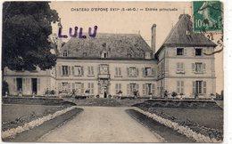 DEPT 78 : édit. Ancien Le Deley : Château D Epone Entrée Principale - Epone