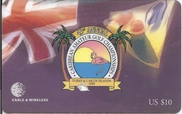 TURKS AND CAICOS ISLAND - CARIBBEAN GOLF CHAMPIONSHIP - GOLF - TKI35 - Turks And Caicos Islands