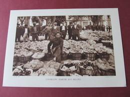 CAVAILLON - MARCHE AUX MELONS - HELIOGRAVURE DE 1934 - CLICHE CHARDON - - Photographie