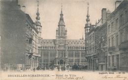 CPA - Belgique - Brussels - Bruxelles - Schaerbeek - Hôtel De Ville - Schaarbeek - Schaerbeek