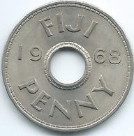 Fiji - Elizabeth II - 1968 - 1 Penny - KM21 - Fiji