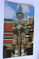 Thailand  Bangkok  Statue  Buddha Temple - Thaïlande