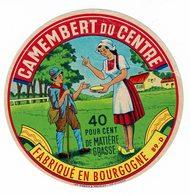 Et. Camembert Du Centre - Fabriqué En Bourgogne - Femme Et Enfant - Fromage