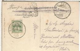 SUIZA 1906 TP BERN MAT TURNFEST - 1882-1906 Wappen, Stehende Helvetia & UPU