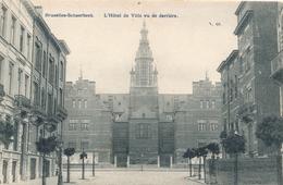 CPA - Belgique - Brussels - Bruxelles - Schaerbeek - L'Hôtel De Ville Vu De Derrière - Schaarbeek - Schaerbeek