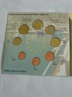Coffret FDC Euro Patterns Set - Euro Prove - TURQUIE - TURKIYE - 2004  **** EN ACHAT IMMEDIAT **** - Essais Privés / Non-officiels