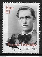 Irlande 2017 N°2216 Neuf Francis Ledwidge - 1949-... Republic Of Ireland