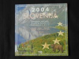 Coffret FDC Euro Patterns Set - Euro Prove - SLOVENIE -SLOVENIJA - 2004  **** EN ACHAT IMMEDIAT **** - Essais Privés / Non-officiels