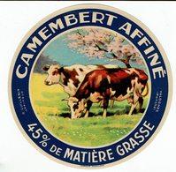 Et. Camembert Affiné - 45 % - 2 Vaches Au Pré Sous Pommier En Fleurs - Fromage