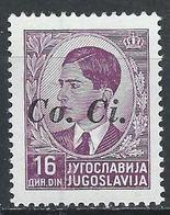 Yougoslavie - Lubiana - Slovénie - Occ Italienne YT 15 Sassone 15 XX / MNH - 9. Occupazione 2a Guerra (Italia)