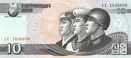 10 Won Nordkorea 2002 UNC - Korea (Nord-)