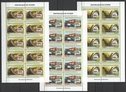 BB015 2007 DE GUINEE FAUNA PREHISTORIC ANIMALS DINOSAURS MINERALS !!! 10SET MNH - Stamps