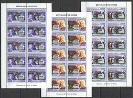BB019 2007 DE GUINEE FAUNA REPTILES DINOSAURS SPACE HALLEY COMET !!! 10SET MNH - Stamps