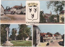 88 - CHATENOIS (Vosges) - Multi-vues - 1959 / Voitures - Chatenois