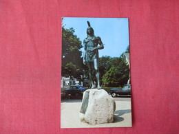 Statue Of Massasoit Plymouth Mass. -->   Ref 3364 - Native Americans