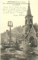 ( PONT CHRIST  ) ( LA ROCHE MAURICE  )( 29 FINISTERE )( CHAPELLE BRETONNE) RUINES DE LA CHAPELLE DE PONT CHRIST - La Roche-Maurice