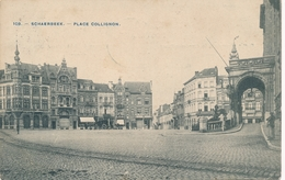 CPA - Belgique - Brussels - Bruxelles - Schaerbeek - Place Colignon - Schaarbeek - Schaerbeek