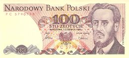 100 Zloty Polen 1986 - Poland