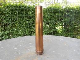 Militaria. Douille D'obus Allemand 3.7 Cm . FLAK.  1942. WW2 - Militaria