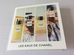 Carte Double Chanel 10x10 - Cartas Perfumadas