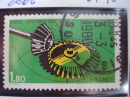 """1979-timbre Oblitéré N°     2066 """"   Ecole Centrale Arts Et Manufactures   """"      0.30 - Oblitérés"""