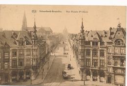 CPA - Belgique - Brussels - Bruxelles - Schaerbeek - Rue Royale Sainte Marie - Schaerbeek - Schaarbeek