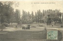 ( MANTES  ) ( 78 YVELINES ) JARDIN DE L ILE AUX DAMES - Mantes La Jolie